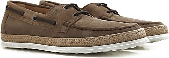 Tod's Boat Shoes for Men, Deck Shoes On Sale in Outlet, Taupe, suede, 2017, 10.5