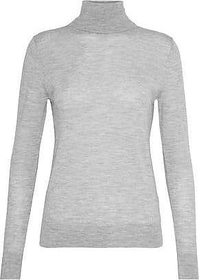 N.Peal N.peal Woman Cashmere Turtleneck Sweater Stone Size XL