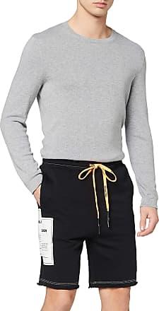 Religion Mens Mono Shorts, Multicolour (Black/White 002), W35 (Size:XL)