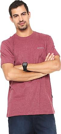 Oakley Camiseta Oakley Mod Classic Elipse Tee Vinho 0de15d765038f