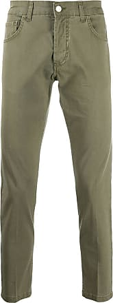 Entre Amis slim-fit trousers - Verde