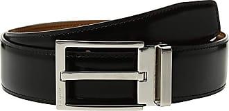 Salvatore Ferragamo Adjustable Reversible Belt - 679301 (Black/Cuoio) Mens Belts