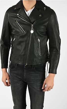 Diesel Leather CL-L-GOLY Jacket Größe Xxs