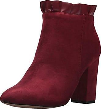 Athena Alexander Womens Katana Ankle Bootie, Wine Suede, 8.5 M US