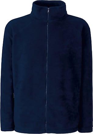 Fruit Of The Loom Womens/Ladies Lady-Fit Full Zip Fleece Jacket (2XL) (Deep Navy)