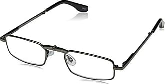Peepers Mens Macgyver Rectangular Reading Glasses,Silver,+3