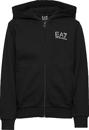 Emporio Armani Hoodie Zip Sweatshirt Hoodie Svart EA7