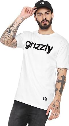 Grizzly Camiseta Grizzly Estampada Branca