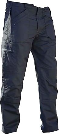 Regatta Mens New Lined Action Trouser (Long) (40W x Long) (Navy Blue)