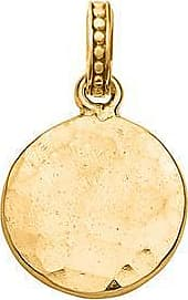 Dower & Hall Small Hammered Disc Story Charm