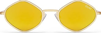 Quay Australia X Kylie Jenner PURPLE HONEY Sunglasses in Gold + POM POM