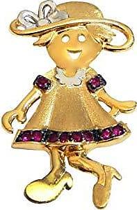 Prado Joias Pingente Em Ouro 18k Menina Filha Grande Com Rubis Naturais