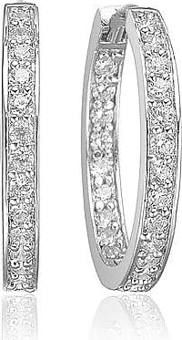 Sif Jakobs Jewellery Earrings Corte with white zirconia