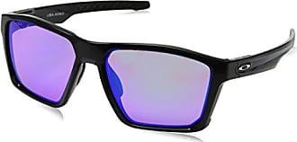 Oakley Mens Targetline Non-Polarized Iridium Square Sunglasses, POLISHED BLACK, 58.0 mm