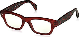 Peepers Womens Boa 2372275 Square Reading Glasses, Red, 2.75