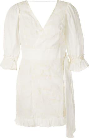 Clube Bossa Vestido Baron bordado - Branco