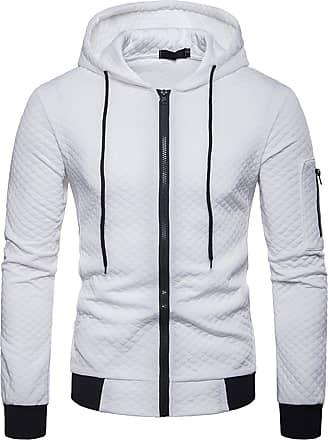 Whatlees Unisex Hip Hop Urban Basic Bomber Jacket MA-1 Baseball Jackets with Quilted Using