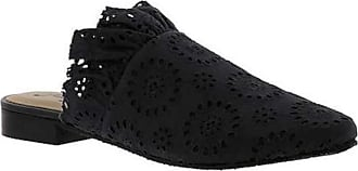 Free People Womens Eyelet Sienna Slip-On, Black, Size 8.0 US / 6 UK US