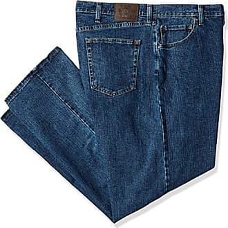Wrangler Authentics Mens Big and Tall Big & Tall Regular Fit Jean with Flex Denim, mid Stonewash, 50x30