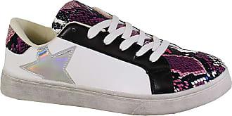 Yoki Womens GLENY Walking Shoe, Snake, 6 UK