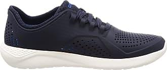 Crocs Mens Literide Pacer M Low-Top Sneakers, Blue (Navy/White 462b), 10 UK