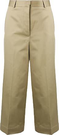Thom Browne Low-Rise Straight Leg Trouser - Neutrals