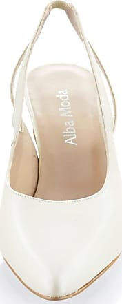 Alba Moda Slingpumps Alba Moda Off-white
