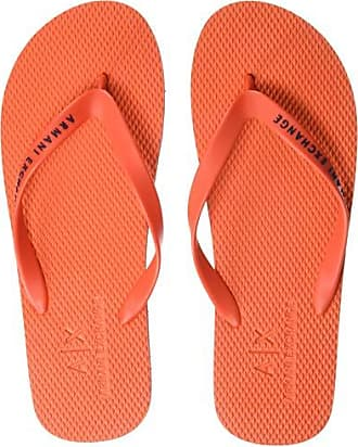 A|X Armani Exchange Mens Flip-Flop, red, 45 M EU (12 US)