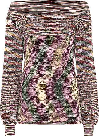 Missoni Wool off-shoulder sweater