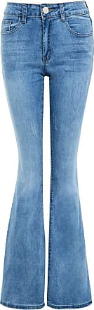 SS7 Womens Denim Jean Flare Flared Stretch Bootcut Jeans Size 6 8 10 12 14 16 New