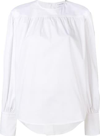 Calvin Klein long-sleeved blouse - White