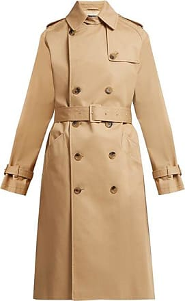 A.P.C. Greta Cotton-twill Trench Coat - Womens - Beige