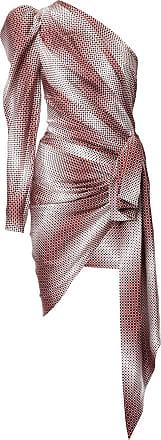 Alexandre Vauthier Vestido envelope assimétrico - Estampado