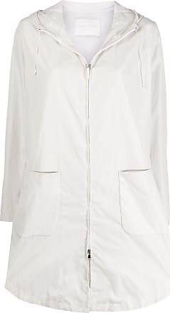 Fabiana Filippi zipped lightweight jacket - White