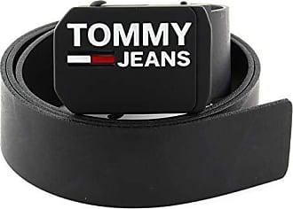 TOMMY HILFIGER TH Plaque Giftbox 3,5 W90 Gürtel Accessoire Black Schwarz Neu