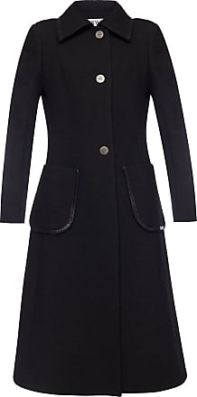 Loewe Wool Coat Womens Black