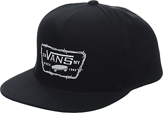 9eddab6f922 Vans Apparel Mens Full Patch Barbed Snapback Baseball Cap