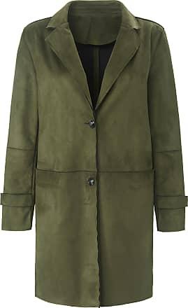 Emilia Lay Coat in faux suede Emilia Lay green