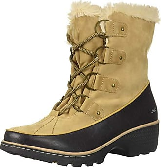 cad8171d35b2 Jambu JBU Womens Eden Weather Ready Mid Calf Boot tan Black 9.5 Medium US