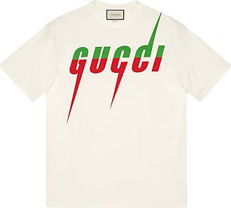 Gucci Camiseta oversized Gucci Blade - Branco
