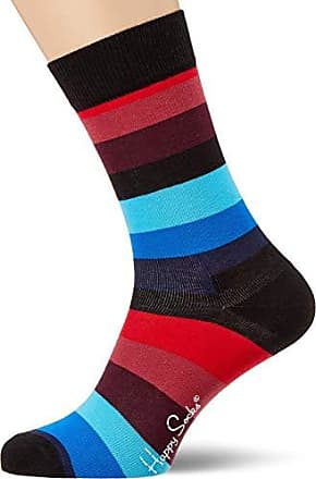 41-46 Half Stripe Socken blau // weiß // rot 36-40 Happy Socks