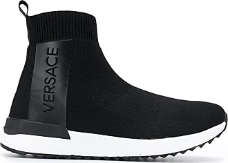 596098437e4 Versace Jeans Couture logo slip-on sneakers - Black