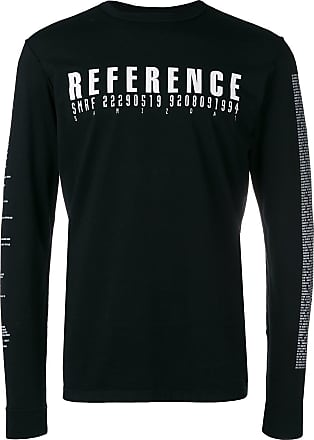 Yang Li Camiseta com estampa Reference - Preto