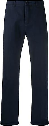 Department 5 Calça chino reta cropped - Azul