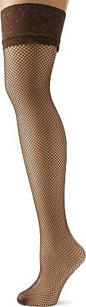 Fiore Womens Liza/Sensual Hold - up Stockings, 40 DEN, Brown (Brown Mocca), Small (Size: 2)