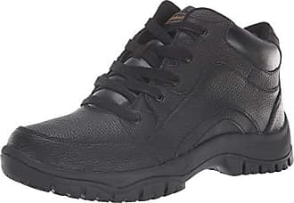 Dr. Scholls Mens Charge Ankle Boot, Black Leather, 10 M US