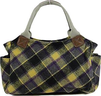 Your Dezire Womens Designer Office Tweed Tote Bag Ladies Shoulder Handbag Work New Yellow