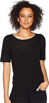 Three Dots Womens Big Sur Stripe Loose Short Shirt