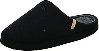 3c956d5c836724 Esprit Herren grobi Logo Pantoffeln Schwarz (Black) 42 EU