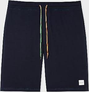 Paul Smith Dark Navy Cotton Jersey Herren Lounge Shorts - dark navy | cotton | medium